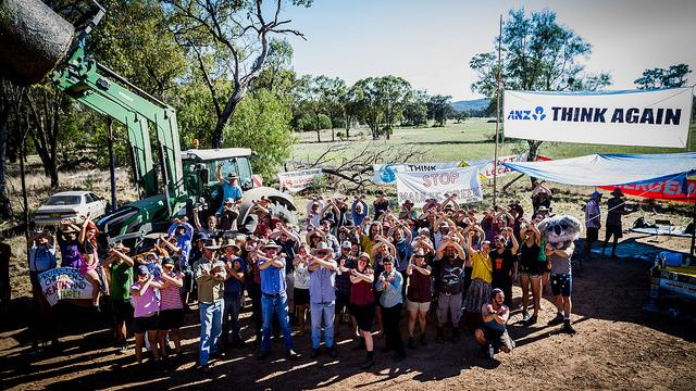 Community action at Maules Creek
